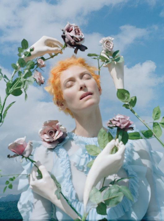 Tilda SWINTON... par Tim WALKER... W Mag. mai 2013 02