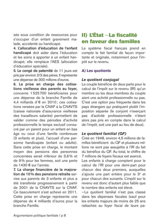 Visu brochure CGT politique familiale 8