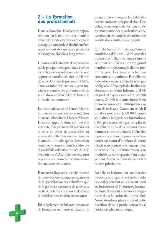 Visu brochure CGT avenir santé 6