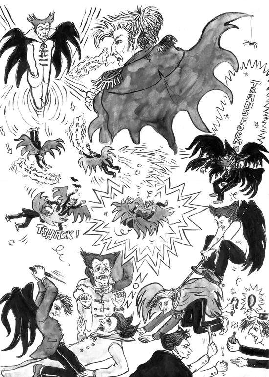 Bataille vampires