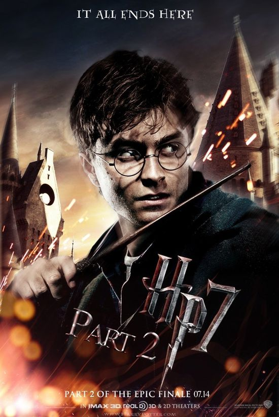 affiche harry potter part 2