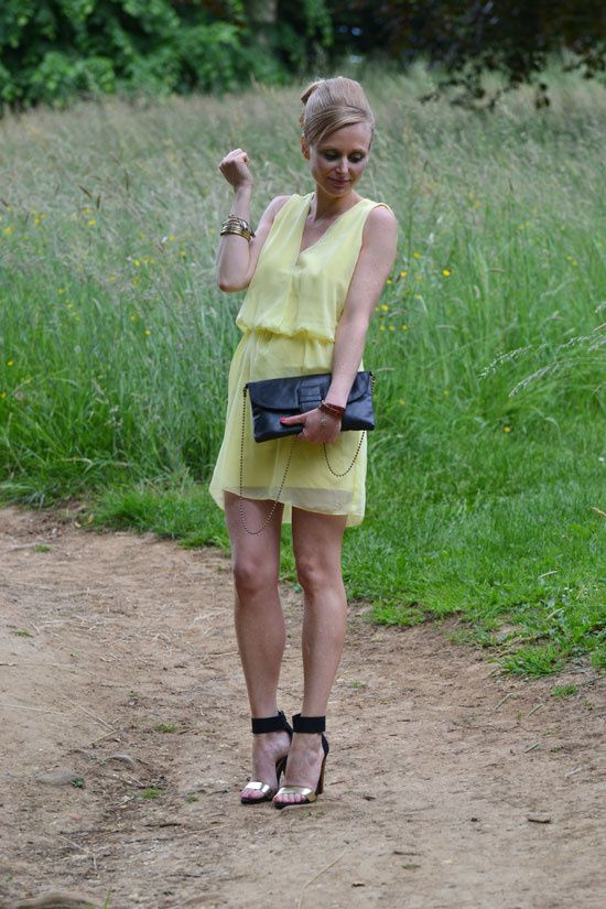 robe jaune zara