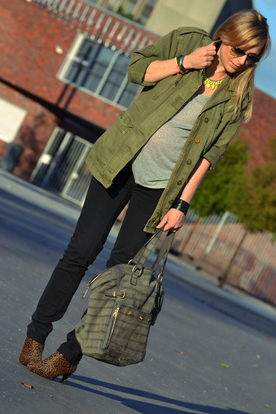 veste army blog mode