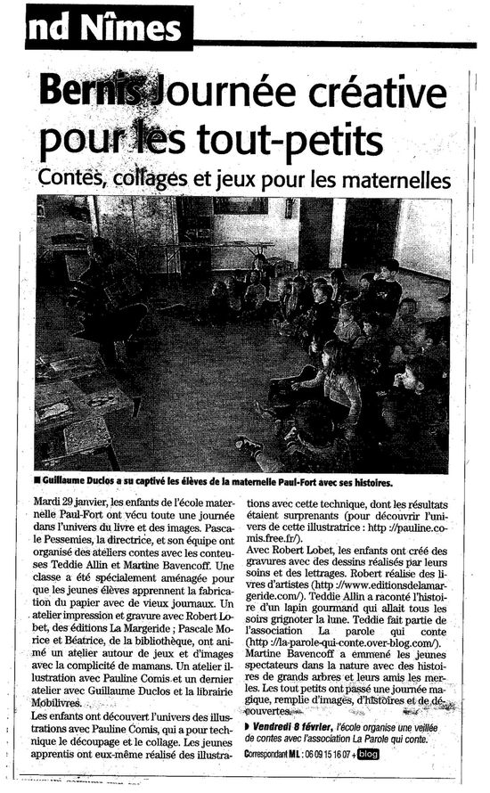 article Bernis 29.01.13