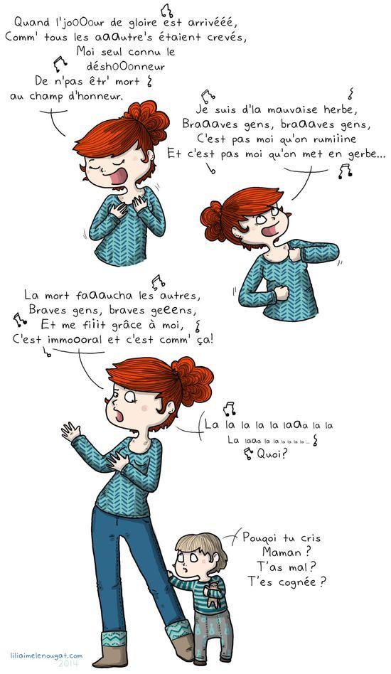 Lili chante