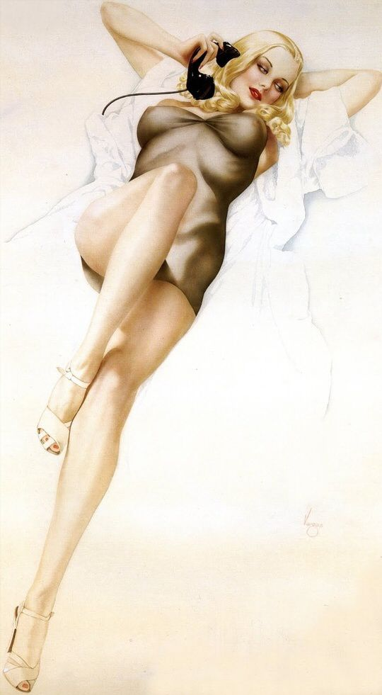 Alberto Vargas Pin Up Girls 01