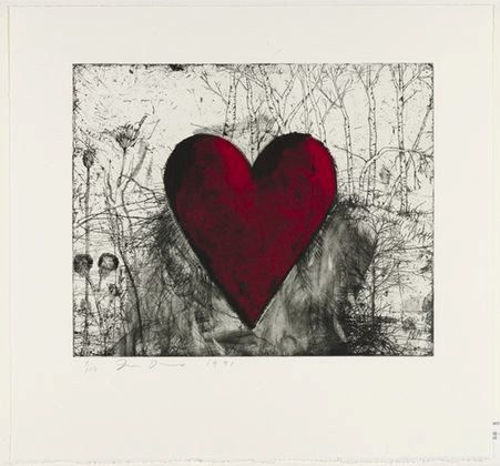 Jim Dine The Little Heart in the Landscape 1991