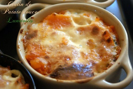 gratin de patate douce