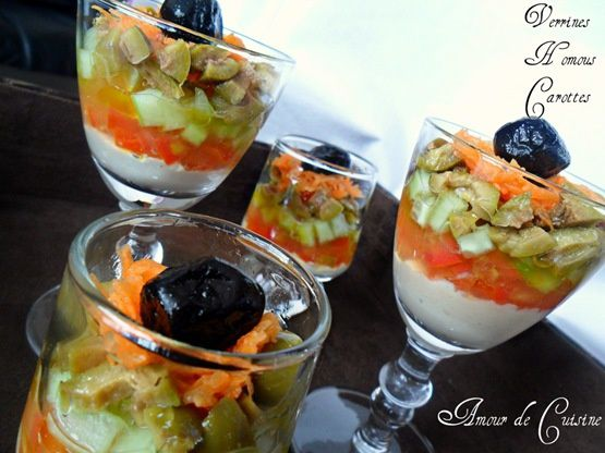 verrine humous carottes 1