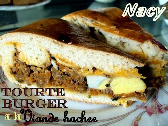 tourte burger 1