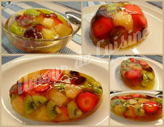 salade de fruit en gelee