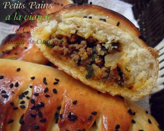 buns a la viande hachee