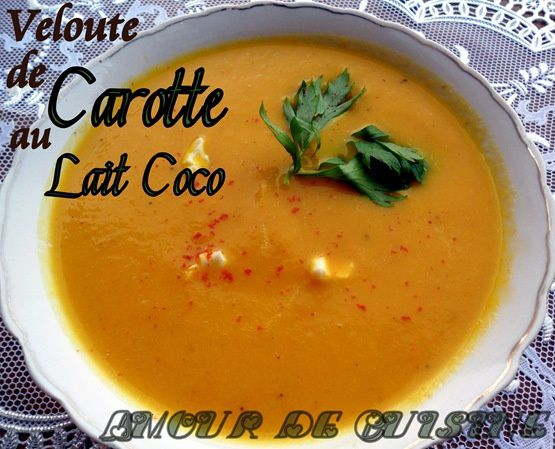 veloute de carotte 140