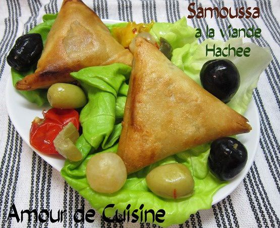 samoussa a la viande hachee