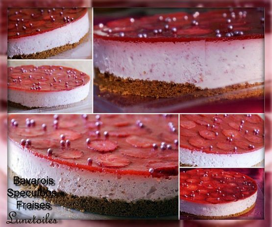 bavarois fraises speculoos 2