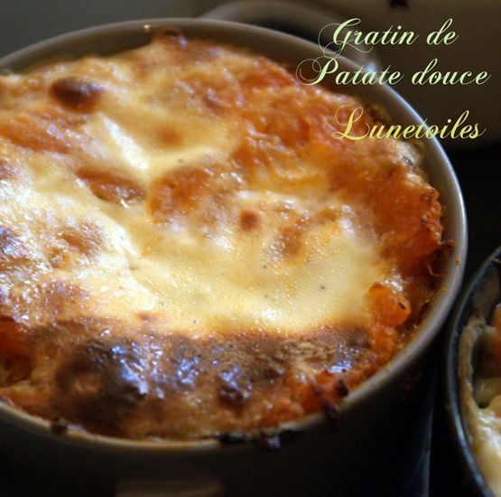 gratin de patate douces 1