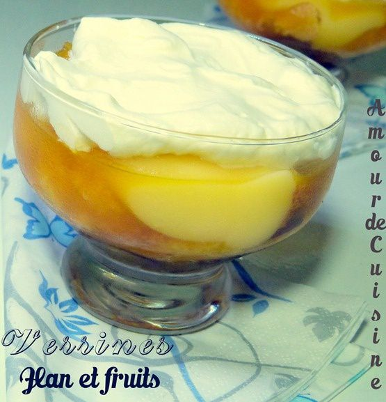 verrine a la creme anglaise et flan 054