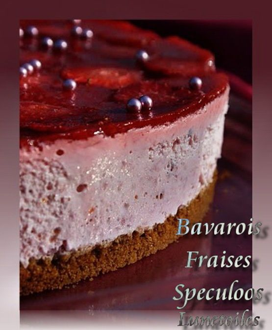 bavarois fraises speculoos 3