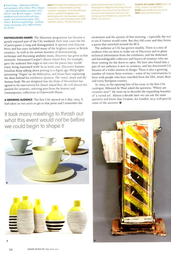 CeramicReview#267page