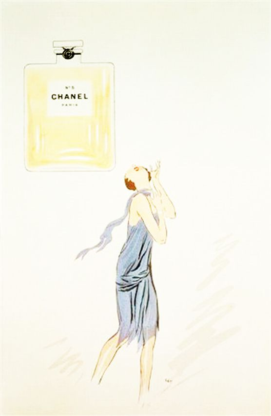 Lithographie Chanel 1921