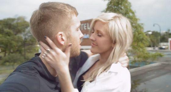 Calvin harris and ellie goulding dating