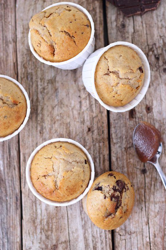 Muffins aux marrons et chocolat