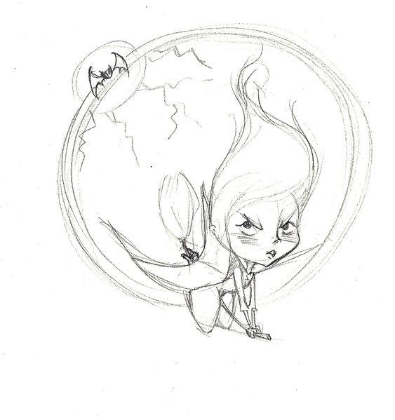 crayonné colère