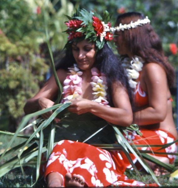tahitiennes tresse