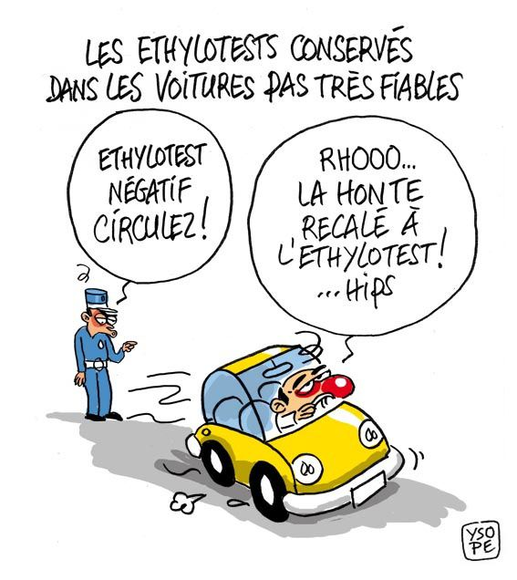 Le racket sur les automobilistes ? C'est bon pour l'emploi !