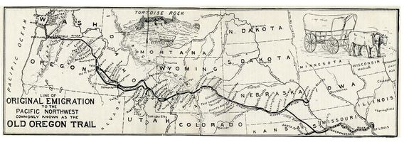 Oregon trail 1907