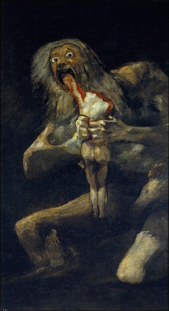 francisco de goya saturne devorant un de ses enfants