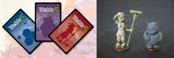Takenoko-Cartes&Figurines
