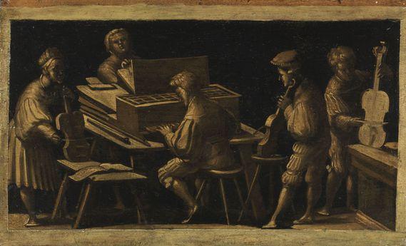 Entourage de Hans Burgkmair Musique profane