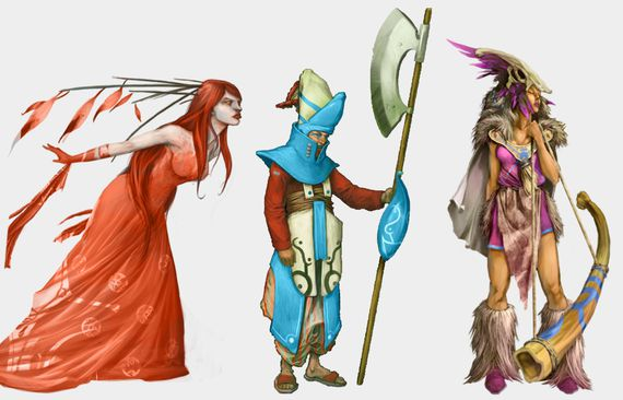 EVO-Personnages
