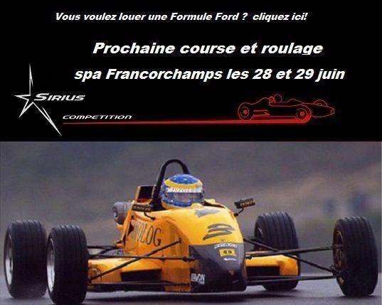 louez formule ford 28 juin