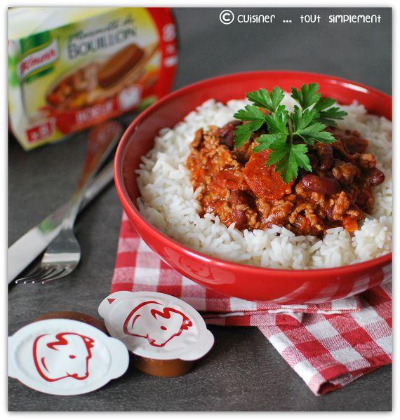 Chili Con Carne au Chorizo 1-001