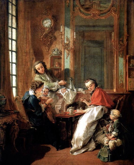 François Boucher Le déjeuner