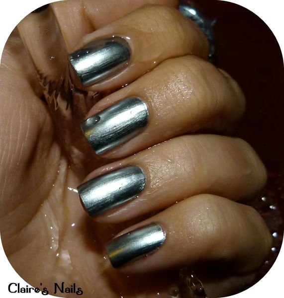 Souvent Swatch - Metal Chrome Layla - Claire's Nails ZV86