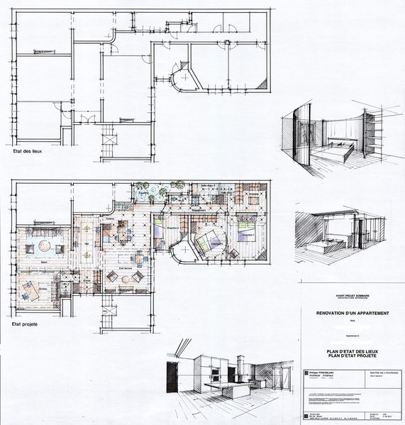 Les emotions d 39 architecte d 39 interieur les plans for Architecture interieur pdf