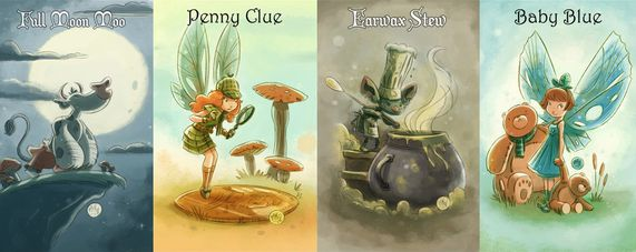 Goblins Drool Fairies Rule-Illo1