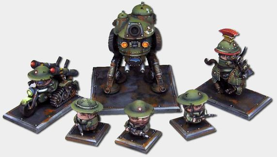 Rivet Wars-Figurines