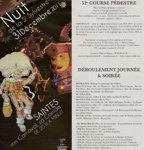 St Sylvestre affiche 12-2011