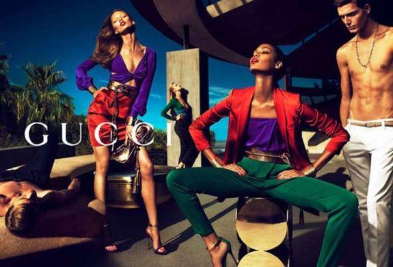 Joan Smalls Gucci