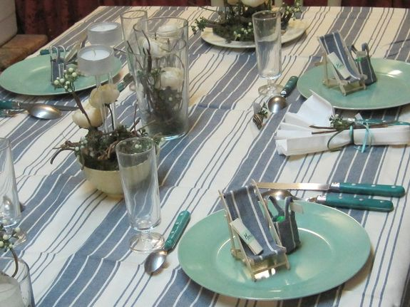decors de table au natrurel