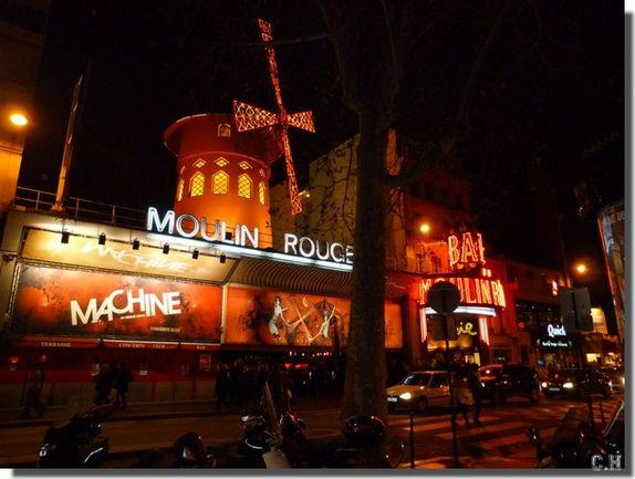 Chapelle ste Rita Moulin rouge