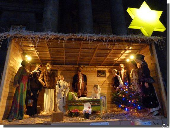 Notre-Dame-de-l'Assomption Paris Noël 2011 creche extéri