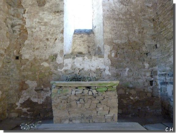 Le temple de la Coëfferie Chapelle.j autel