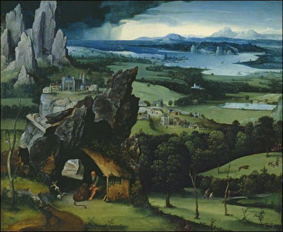 joachim patenier paysage avec saint jerome