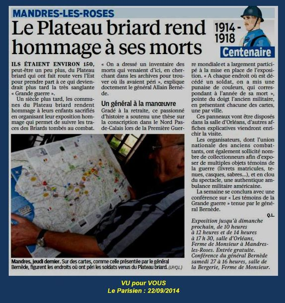 Mandres hommage
