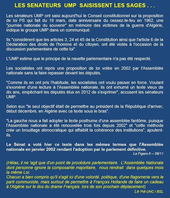 19 mars conclusions